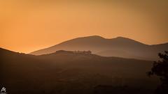 Sunset and the Haze (sideris_bill) Tags: mountain sunset greece elefsina elefsina2021 haze mist magichour sony a77mkii