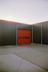 Azeven-Noord, Drachten, FR (Jickatrap) Tags: pentax pentaxmz50 35mm  analog film filmphotography  architecture  cinestill cinestill50   suburbia   photographersontumblr  newtopographics urbanlandscape drachten