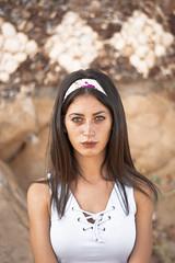 gipsy mood (Emanuela Aglieri Rinella) Tags: d3300 digital day digitale model eyes friend girl photography photo nikon portrait project gipsy 50mm woman