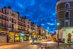 Gloucester Road Blue Hour (James Neeley) Tags: london gloucesterroad jamesneeley