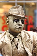 Living statue street performer (Nigel Blake, 13 MILLION...Yay! Many thanks!) Tags: living statue street performer covent garden london uk art still static statuesque