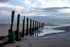 Dubmill Point groynes (allybeag) Tags: dubmillpoint beach allonby sunset groynes