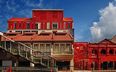 The RED HOUSE (williamcho) Tags: redhouse bakeryold history refurbished renovated apartments architecture
