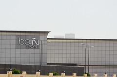 Bein Sport offices in Doha, Qatar (jbdodane) Tags: alamy160920 bein beinsports channel doha middleeast qatar tv alamy