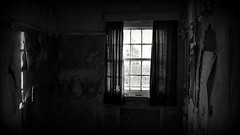 It's Day (Gareth Priest) Tags: urbandecay urbex urbanexploration bw window mood dark mysterious