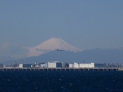 Blue (Ben Zabulis) Tags: asia japan sea mtfuji 5photosaday blue nihon 富士山 fredolsencruiselines sky snow fujiyama cruising tokyobay water airport buildings city jet plane aeroplane landing runway aviation mountain honshu airline airliner approach tokyo ana all nipon air allnipponairways aircraft 日本 東京湾 羽田空港 haneda hanedaairport 日本国 nippon 全日空 waterfront shoreline seawall piles structure boeing hills lparrival fareastexplorer
