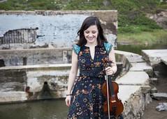 Adrianna Ciccone (horizontal) - by Hannah Cohen Photography (adrianna.ciccone) Tags: musician music san francisco adrianna violin baths sutro fiddle fiddler ciccone