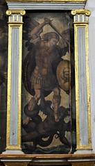 Antequera (Mlaga). Iglesia de San Zoilo. Retablo pictrico. San Miguel arcngel (santi abella) Tags: espaa andaluca mlaga antequera retablos