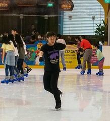 Freezing motion (advintagelens) Tags: art magic skating freezing fast olympus skate graceful fastshutterspeed m43 freezingmotion