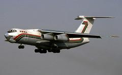 Sharjah Il-76 ST-APS Mar2001 (Peter M Garwood) Tags: uae sharjah unitedarabemirates azza il76 ilyushin