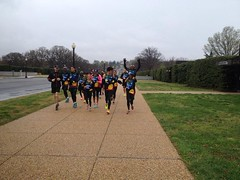"Group run around Washington DC • <a style=""font-size:0.8em;"" href=""https://www.flickr.com/photos/64883702@N04/17240284661/"" target=""_blank"">View on Flickr</a>"