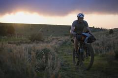 Grinding into camp under the setting sun (gabriel amadeus) Tags: camping mountain lake bike bicycle oregon desert or dry sage mtb steens mountainbiking gravel alvord southeastern bikepacking traveloregon ep514 cyclone2016
