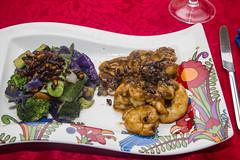 King prawns (vk2gwk - Henk T) Tags: food cooking vegetables prawns meal seafood culinary stirfry