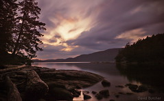 Long Kiss Goodnight (Just Call Me Dave) Tags: longexposure sunset tree water clouds spring britishcolumbia weldingglass hardyisland efs1585f3556isusm