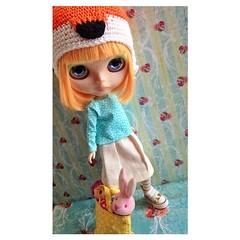 E pra nao ficar enciumada, a Doritos, lógico, ganhou uma roupa nova tbm (mango custom)