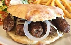"""Cevapcici"" - Balkan sausages Pasko's Balkan Grill ""express"" (Pasko's Balkan Grill) Tags: cuisine restaurant bbq grill balkan mediterranenan paskos"