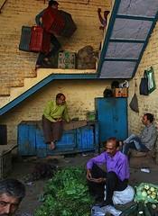 The Vegetable Market (Aniruddha Guha Sarkar) Tags: street people market delhi
