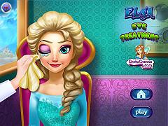 艾莎的視力檢查(Elsa Eye Treatment)