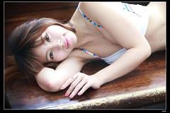 nEO_IMG_DP1U0051 (c0466art) Tags: light portrait sexy girl beautiful face rain female canon nice asia pretty day outdoor gorgeous taiwan lips bikini figure attractive charming 1dx c0466art