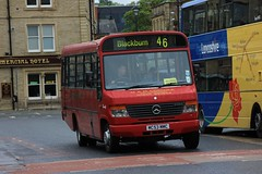 M&M Coaches MC53 MMC (Luke Bowman's photography) Tags: 2 bus station mercedes beaver mm mmc coaches accrington plaxton transbus o814 mc53