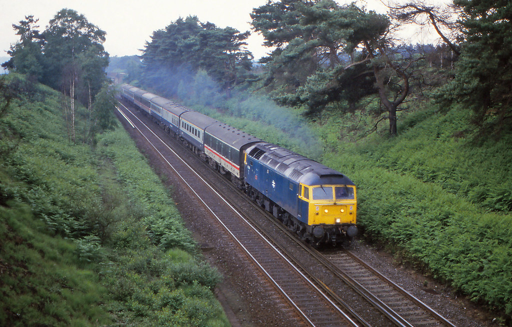 Odin (pete.callaway) Tags: odin britishrail class47 brblue 47606