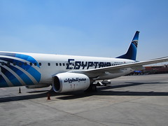 Flying Egypt Air!