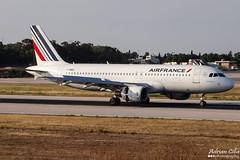 Air France --- Airbus A320 --- F-HBNJ (Drinu C) Tags: plane aircraft aviation sony airbus dsc airfrance a320 mla lmml hx100v fhbnj adrianciliaphotography