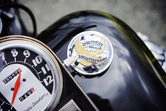 """Live to ride, ride to live"" (Eric Flexyourhead (shoulder injury, slow)) Tags: canada detail bike metal vancouver zeiss shiny downtown bc tank bokeh britishcolumbia harley motorbike chrome american harleydavidson instrument motorcycle hog speedometer gauge gascap fueltank fragment shallowdepthoffield 2016 theshop waterfrontroad ridetolive 55mmf18 sonyalphaa7 zeisssonnartfe55mmf18za spitnshine 2016spitnshinevintageandcustommotorcycleshowandshine"