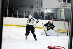 Anders Bjork and Malcolm Subban (Odie M) Tags: boston wilmington ristucciamemorialarena bostonbruins developmentcamp rookies 2016developmentcamp nhl hockey icehockey teamsport sport andersbjork malcolmsubban goalie