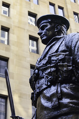 Sailor at the Cenotaph in Martin Place, Sydney (globaleyestock.com Stephen Dwyer) Tags: australia sydney ww1 soldier statue sailor bronze cenotaph martinplace remembrance worldwarone worldwar memorial