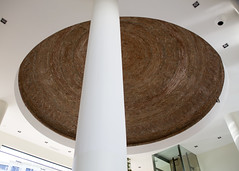 Hotel Lobby Ceiling (Hans van der Boom) Tags: europe portugal algarve vacation holiday albufeira ceiling hotel lobby stone pillar pt