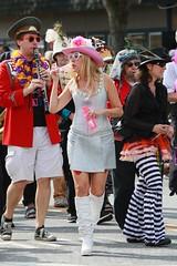 Fremont Solstice 2016  2205 (khaufle) Tags: solstice fremont wa usa marchingband parade hat