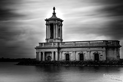Normanton Church Rutland Water Black And White (Robert Male Photography) Tags: rutland rutlandwater churches church normanton normantonchurch blackandwhite