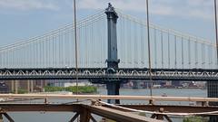 Brooklyn Bridge (joschibelami) Tags: bridge vacation usa newyork brooklynbridge manhatten manhattenbridge 2016