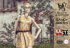 Wicca's Wardrobe - Sandy Dress (On9 August 2016) (Wicca Merlin / Wicca's Wardrobe) Tags: wiccaswardrobe wiccamerlin slfashionsummerfashion summerdress neckholder neckholderdress shortdress belt belteddress fashion style sl secondlife on9 event salesevent maitreya slink tmp belleza topic meshbody meshbodyenhancement meshbodydress standardsizes maitreyalara slinkphysique slinkhourglass summer autumn august2016 onnine