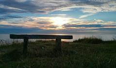 ... the Sunrise Seat ... North Sea Norfolk Uk Mare  Blue Holidays Clouds And Sky Mundesley Sea   Clouds Morning Water Sky Norfolk Shore Vista Seaside Coast Cliff (Almena14) Tags: sunrise seat northsea norfolkuk mare  blue holidays cloudsandsky mundesley sea   clouds morning water sky norfolk shore vista seaside coast cliff