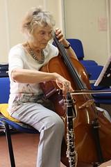 Concentration (davebarratt39) Tags: lady miltonkeynes cello rehearsal musician mku3a