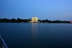 Thomas Jefferson Memorial, Washington DC (Samd7000) Tags: evening washingtondc washington districtofcolumbia outdoor potomacriver tidalbasin thomasjeffersonmemorial