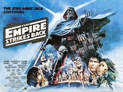The Empire Strikes Back (1980) by Josh Kirby (Tom Simpson) Tags: film illustration movie poster starwars movieposter princessleia darthvader lukeskywalker 1980s posterart hansolo joshkirby theempirestrikesback