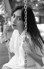 img27 (Giuseppe_mat90) Tags: light portrait white black film girl beautiful analog self 35mm 50mm natural kodak trix olympus om10 400 epson f18 ilford zuiko v550 develop id11