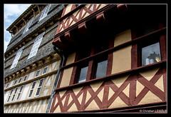 Rue Kron / Kereon street - Quimper (christian_lemale) Tags: house france architecture nikon brittany bretagne maison halftimbered kemper quimper colombages pansdebois d7100