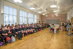 SpellingBeeFinal2016_km136 (routesintolanguages) Tags: uk wales kids modern competition aberystwyth using learning spelling welsh language foreign schoolkids talking schoolgirl schoolgirls pupil speaking vocabulary pupils spellingbee 2016 year7 europeaan wjec schoolkind langiages medrus