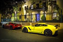 Ferrari 458 Speciale - Chevrolet Corvette C7 Z06 (Granada) (Nash FRosso) Tags: california sunset slr chevrolet nature beautiful sport canon nice nikon couple gorgeous awesome ss 911 fast continental ferrari voiture spyder monaco best camaro special sp mclaren granada rolls spotted gt photoshot corvette lamborghini rs extrieur luxury b7 supercar bentley gallardo zonda ignacio armenteros speciale supercars murcielago f40 f50 z06 991 gt3 pagani banus c7 599 458 vhicule shoty woderful voituredesport 300kmh voituredecourse courseautomobile 1100d worldcars jackts lp560 agera aventador koenisegg lp700 marrusia vivasaab