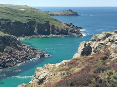 The cliffs at Zennor (Marion in Cornwall) Tags: cornwall zennor