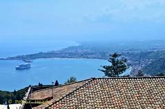 Taormina - coastal view 4 (Sussexshark) Tags: 2016 may holiday vacanza sicily sicilia taormina view coast southwards