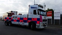 ASK Recovery's FH13 (JAMES2039) Tags: volvo tow towtruck truck lorry wrecker heavy underlift heavyunderlift 6wheeler cardiff rescue breakdown night ask askrecovery recovery fh13 pn09juc