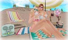 Beach Baby (KiSMeT FaiTH) Tags: magika twistcandy fetch littlellama infiniti secondlife theseasonsstory suecream