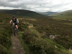 Kay climbing out of Mosedale (Gee & Kay Webb) Tags: mtb mountainbike mountain mud bike santacruz 5010 trails blencathra cumbria singletrack skiddawhouse