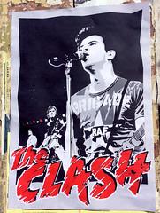 the Clash Poster (seven_resist) Tags: clash poster plakat linke tshirts art portrait joe strummer punk punkrock punx music live concert artist wall paper print disorder rebel store berlin kreuzberg