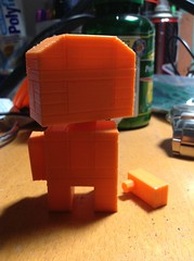 3D Printed Mascoteer. (.SilentMode) Tags: mascoteers 3d printing prototype silentmode toy 3dprint model